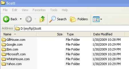 Microsoft Windows IIS FTP Part 3 - The Doorway Folder Trick